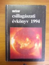 Meteor csillagászati évkönyv 1994
