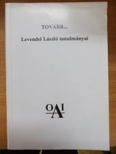 Tovább..-Levendel László tanulmányai