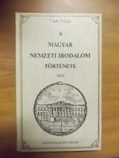 A magyar nemzeti irodalom története- Toldy Ferenc