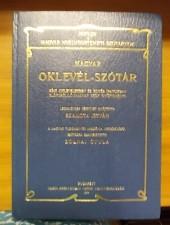 Magyar oklevél- szótár-Szamota István