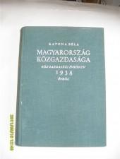 Katona Béla Magyarország közgazdasága