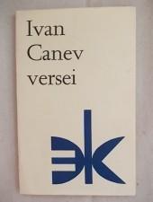 Ivan Canev versei