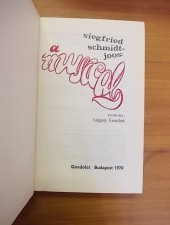 A musical-Siegfried Schmidt-Joos