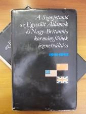 A Szovjetunió, az Egyesült Államok és Nagy-Britannia kormányfőinek üzenetváltása