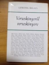Lengyel Balázs Verseskönyvről verseskönyvre