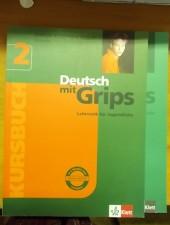 Deutsch mit grips 2.- Lehrwerk für Jugendliche -Kursbuch und Arbeitsbuch
