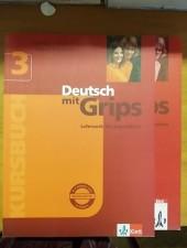 Deutsch mit Grips 3.- Lehrwerk für Jugendliche - Kursbuch und Arbeitsbuch