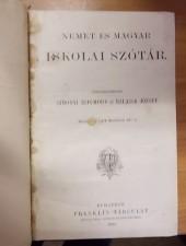 Német - magyar iskolai szótár