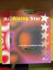 Rising Star -A Pre-First Certificate Course -Student's Book and Practice Book