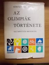 Keresztényi József Az olimpiák története